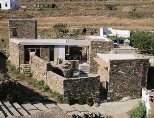 Tinos Island House as a Miniaturised Stony Village