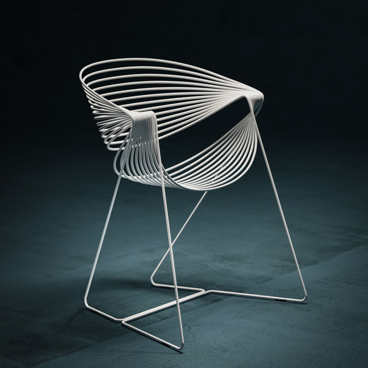Filoferru chair; Robby Cantarutti and Partners architects and ...