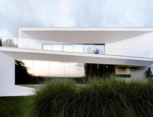Art Gallery House by l i n e a r c h i t e c t s; Moldova
