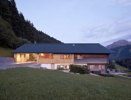 Wellness Am Holand by firm architekten; Austria