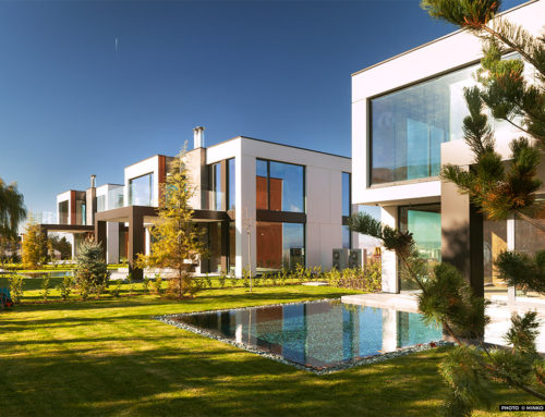 Three Family Houses with Pools by LP Group; Bulgaria