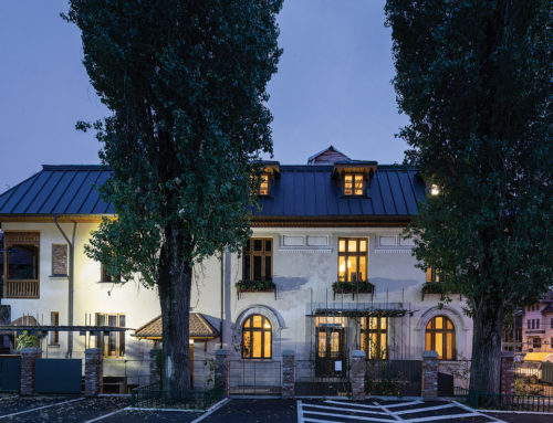 Restoration, refurbishment of the Headquarters of The Order of Architects of Romania Bucharest Branch by STARH; Romania