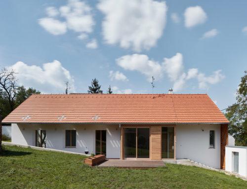 South Moravian Village House by ORA; Czech Republic