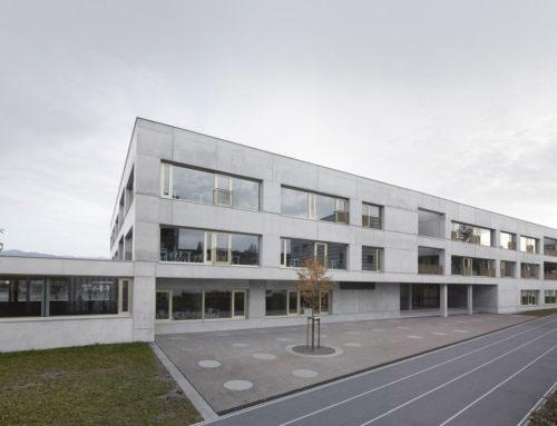 School Schendlingen by Matthias Bär (architecture design), Bernd Riegger and Querformat; Austria