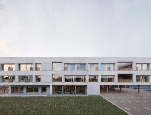 School Schendlingen by Architekt Matthias Bär; Austria