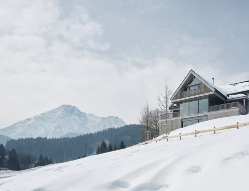 House between the Mountains by Gangoly & Kristiner Architekten; Austria