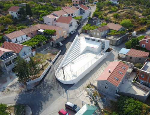 "Community Center ""Gošići"" by AIM studio; Montenegro"