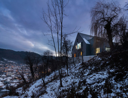 House with a View by Attila KIM • Architects; Romania