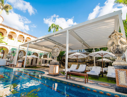 Sponsored: KE creates a new outdoor dining area at Casa Casuarina in Miami