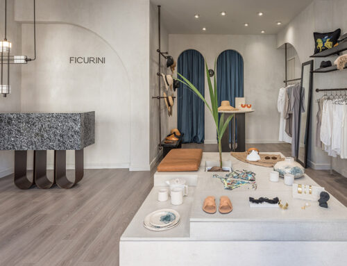 Ficurini concept store by Normless architecture studio; Greece