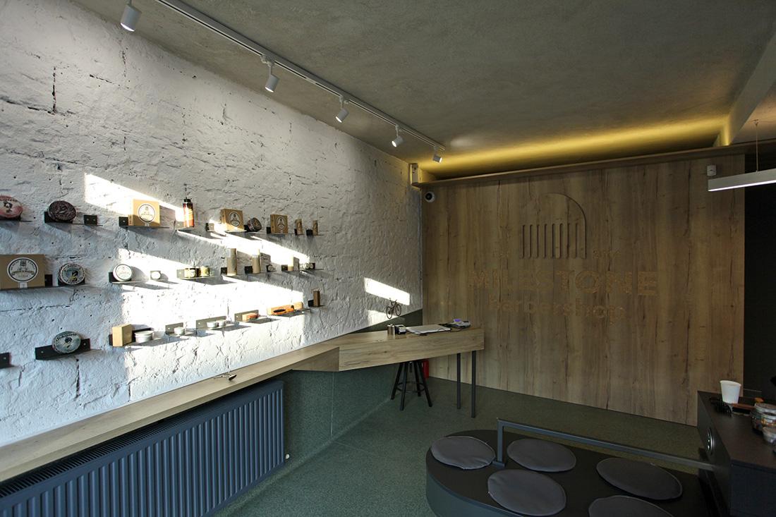 Milestone Barbershop Interior Design by Atelier MASS