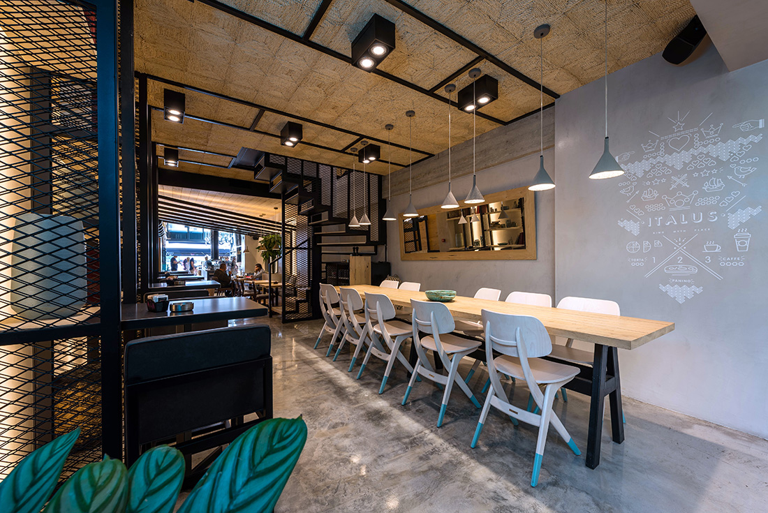 Italus All Day Cafe Restaurant By Chadios Architects Greece