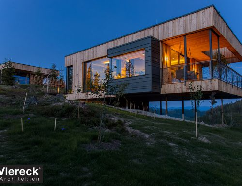 Deluxe Mountain Chalets by Viereck Architekten; Austria