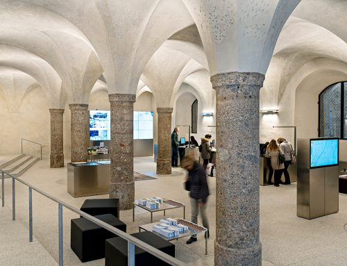 Tourismus information centre Innsbruck by Betina Hanel & Manfred Sandner; Austria