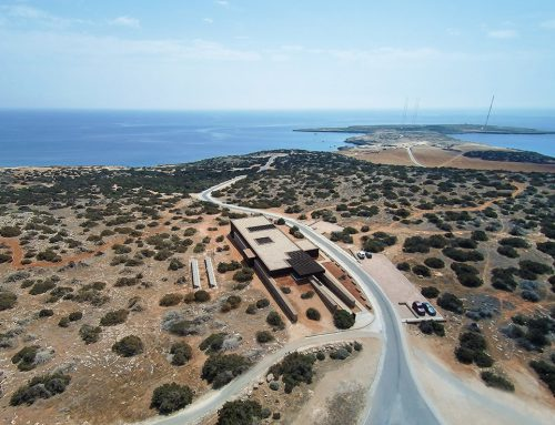 Kavo Gkreko Visitor Centre by Marios Economides Maria Akkelidou Architects; Cyprus