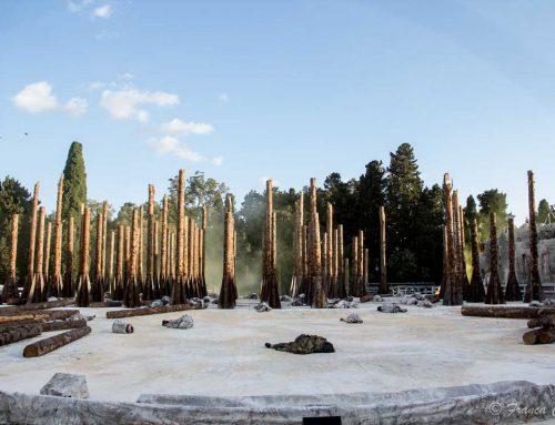 Un Bosco Morto per Le Troiane by Stefano Boeri Architetti; Italy