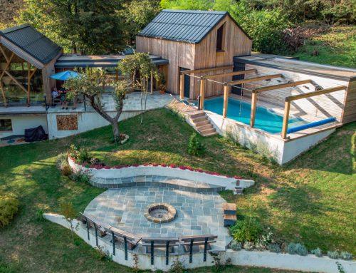 Family house in Dolenjska Region by Pillar; Slovenia