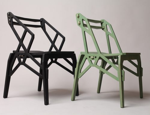 FRAME ARM CHAIR by Konstantin Achkov studio for Lock furniture; Bulgaria