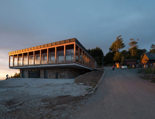 EXIT STATION OF A CABLEWAY IN PUSTEVNY by Kamil Mrva Architects; Czech Republic