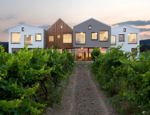 KINDERGARTEN OVER THE VINEYARD by Architekti.sk; Slovakia