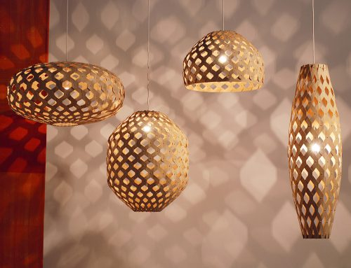BAMBOO LIGHT HEXAGONAL by ADAMLAMP; Hungary
