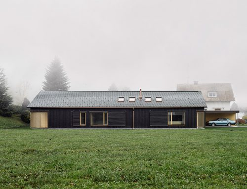 HOUSE Z|F by Bernd Riegger; Austria