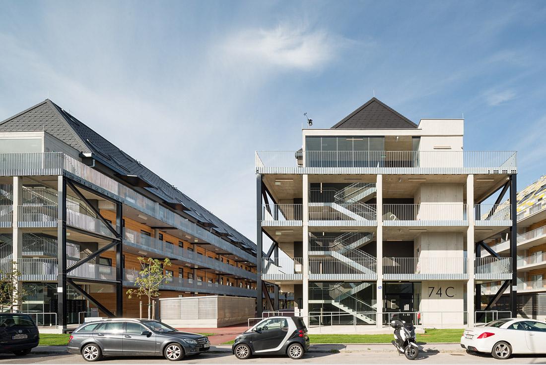 Ensa Paris Val De Seine maximilianstraßeartec architekten + wimmer und partner