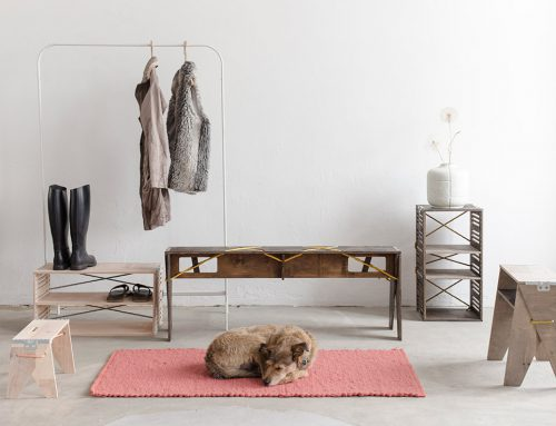 NOMAD FURNITURE COLLECTION by Sára Kele for Nyír-Demonich Zrt.; Hungary