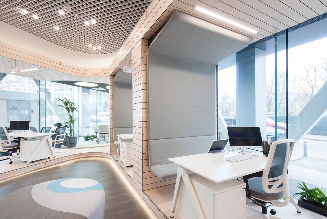 Apa Nova Front Office Interior Design, Bucharest