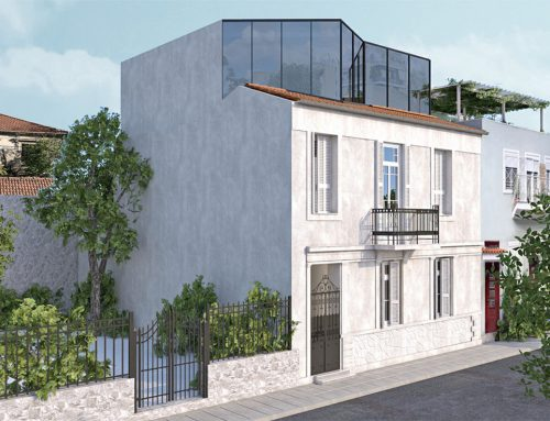 Extension & refurbishment of a listed residential building, Athens (Metaxourgeio)
