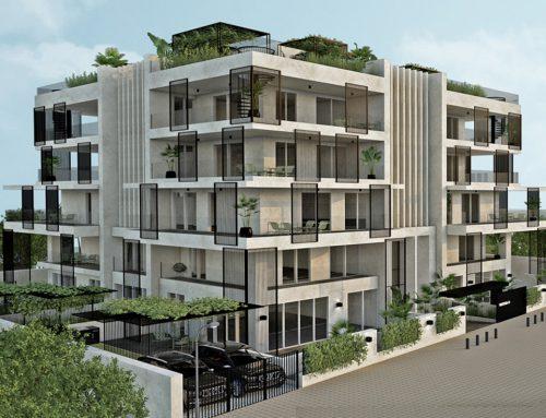 Hellinikon apartment building concept design, Athens