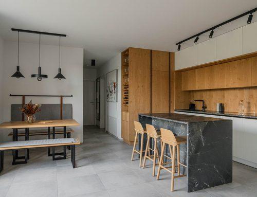 TOP8 – Top floor apartment design, Klosterneuburg