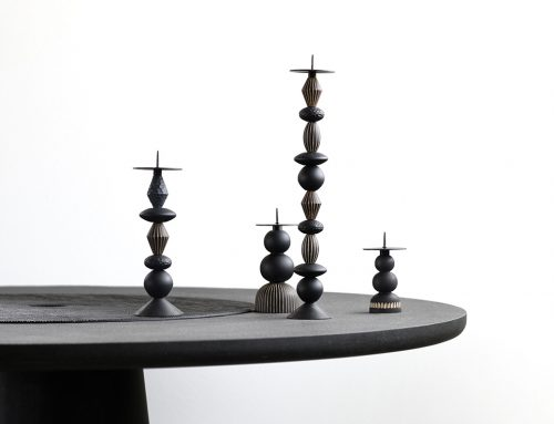 Play & Burn candle holders set