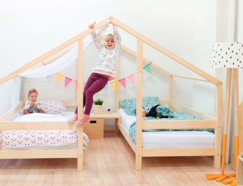 Double House Bed VILLY for Two Kids